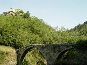 Le Pont du diable sur l'Ance...